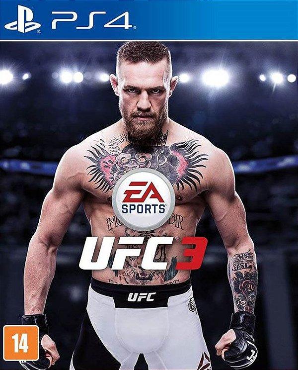 UFC 3 Standard Edition - PS4 - Mídia Digital