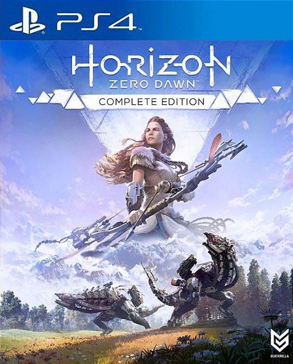 Horizon Zero Dawn: Complete Edition - PS4 - Mídia Digital