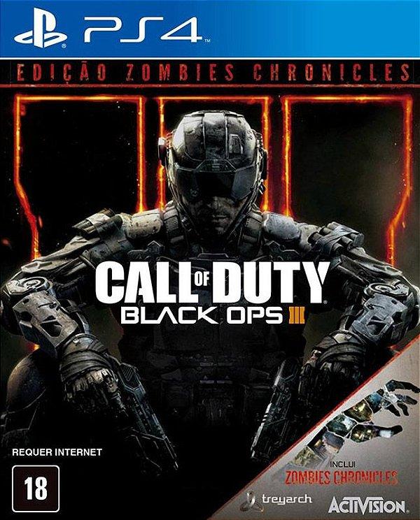 Call Of Duty: Black Ops lll Edição Zombies - PS4 - Mídia Digital
