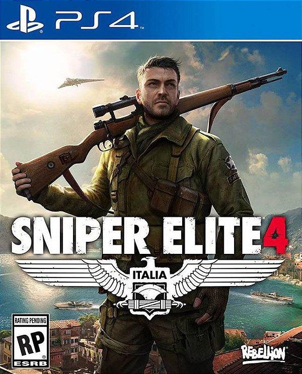 Sniper Elite 4 - PS4 - Mídia Digital