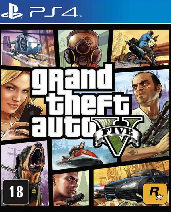 Grand Theft Auto V - PS4 - Mídia Digital