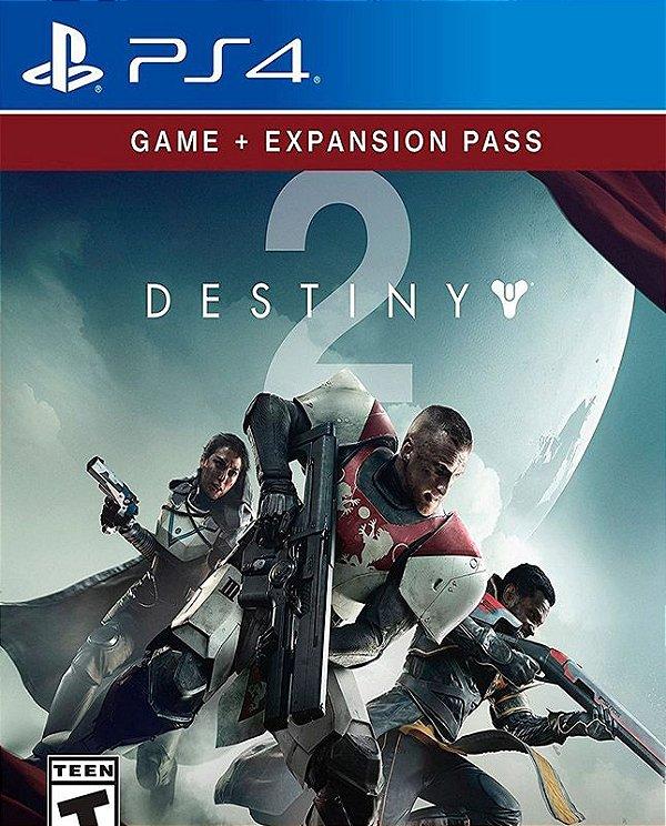Destiny 2 + Passe de Expansão - PS4 - Mídia Digital