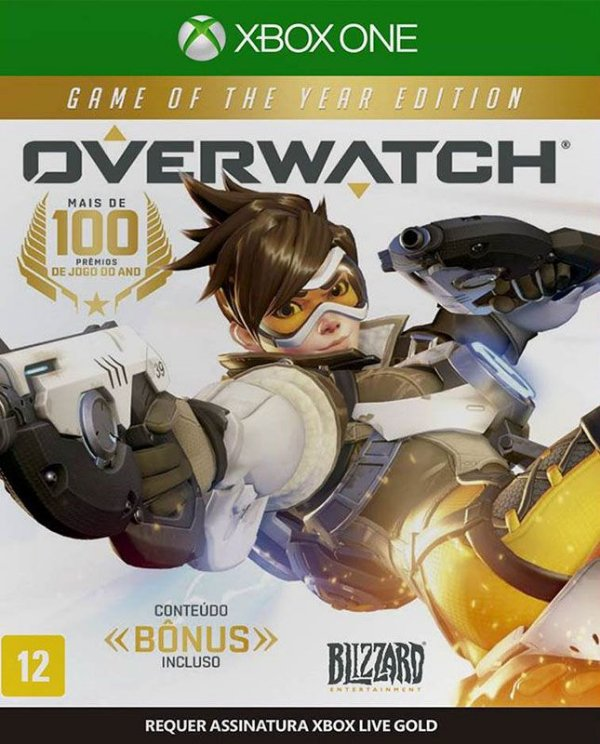 Overwatch Game Of The Year Edition - Xbox One - Mídia Digital