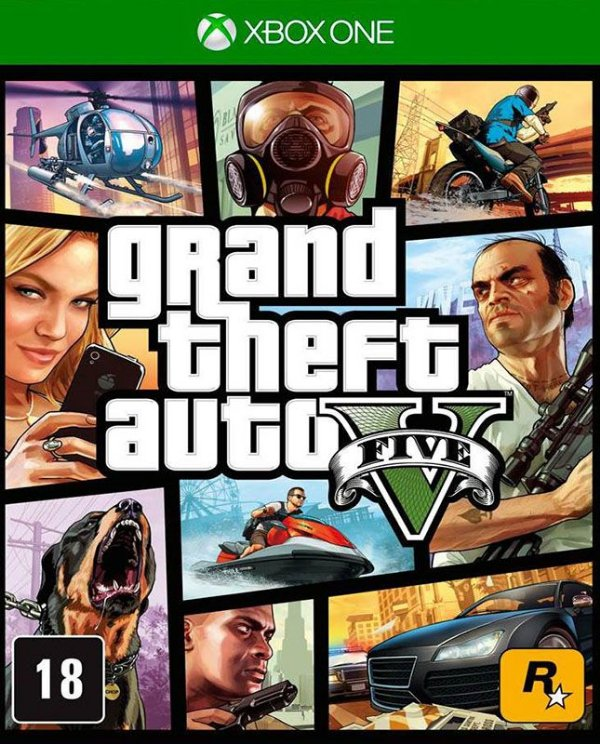 Grand Theft Auto V - Xbox One - Mídia Digital