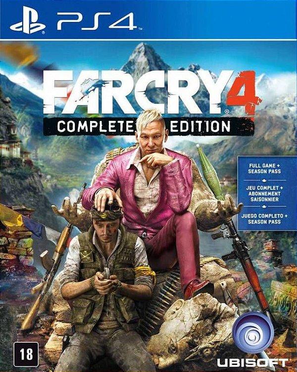 Far Cry 4 Gold Edition - PS4 - Mídia Digital