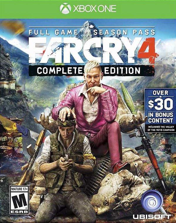 Far Cry 4 Gold Edition - Xbox One - Mídia Digital