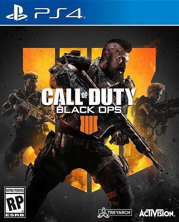 Call Of Duty Black Ops 4 - PS4 - Mídia Digital