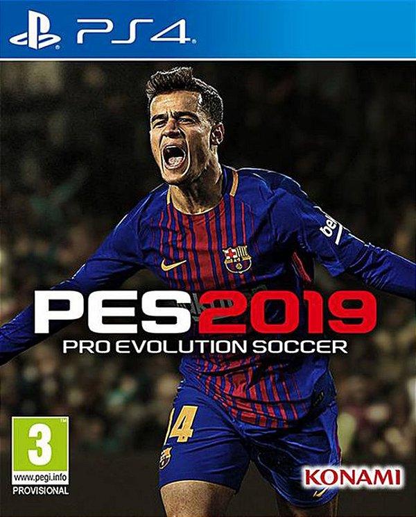 PES 2019 STANDARD EDITION - PS4 - Mídia Digital