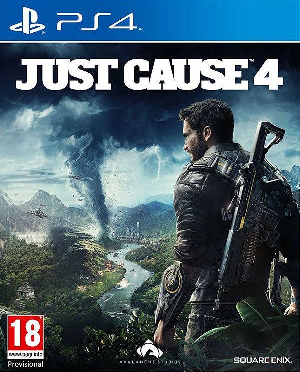 Just Cause 4 - PS4 - Mídia Digital