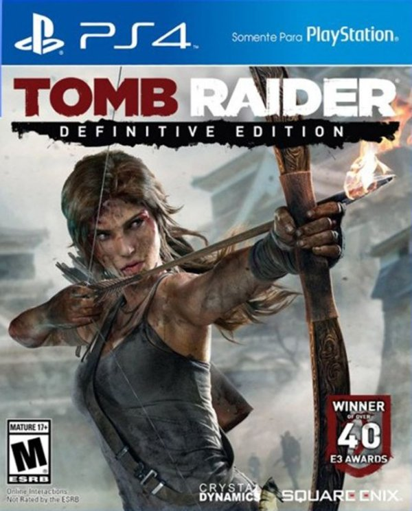 Tomb Raider: Definitive Edition - PS4 - Mídia Digital