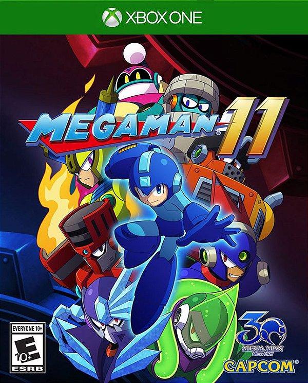 Mega Man 11 - Xbox One - Mídia Digital