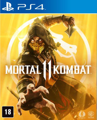 Mortal Kombat11 - PS4 - Mídia Digital - PRÉ-VENDA