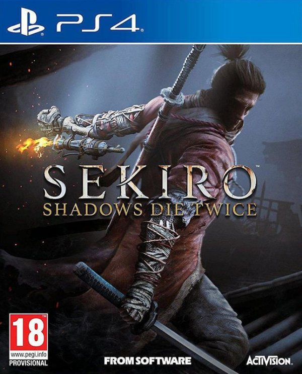 Sekiro Shadows Die Twice - PS4 - Mídia Digital - PRÉ-VENDA