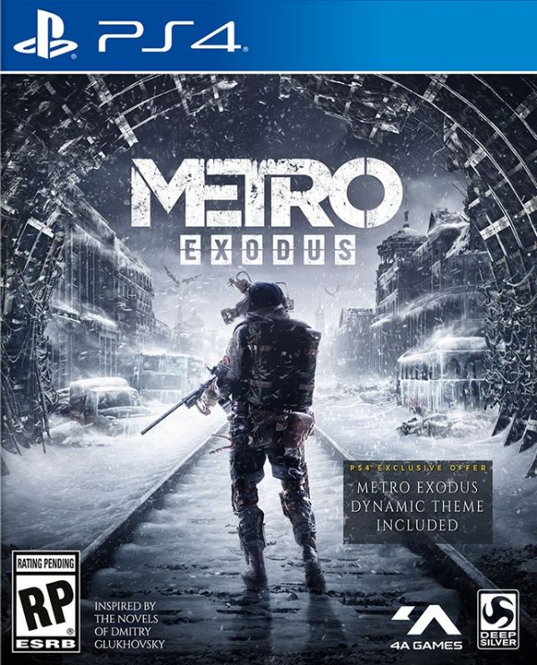 Metro Exodus - PS4 - Mídia Digital