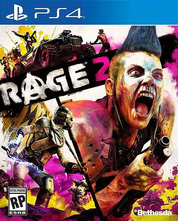 RAGE 2 - PS4 - Mídia Digital - PRÉ-VENDA