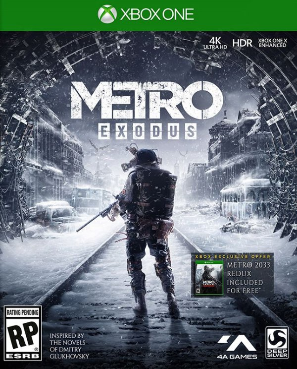 Metro Exodus - Xbox One - Mídia Digital