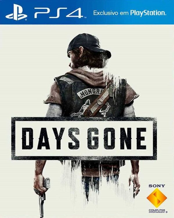 Days Gone - PS4 - Mídia Digital
