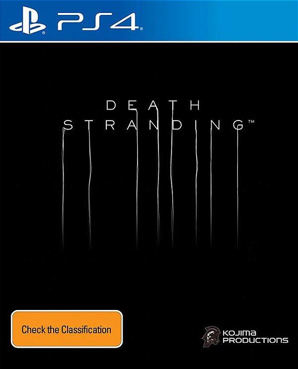 DEATH STRANDING - PS4 - Mídia Digital - PRÉ-VENDA