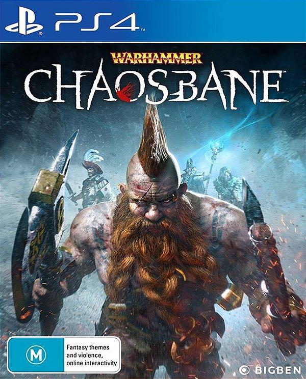 Warhammer Chaosbane - PS4 - Mídia Digital