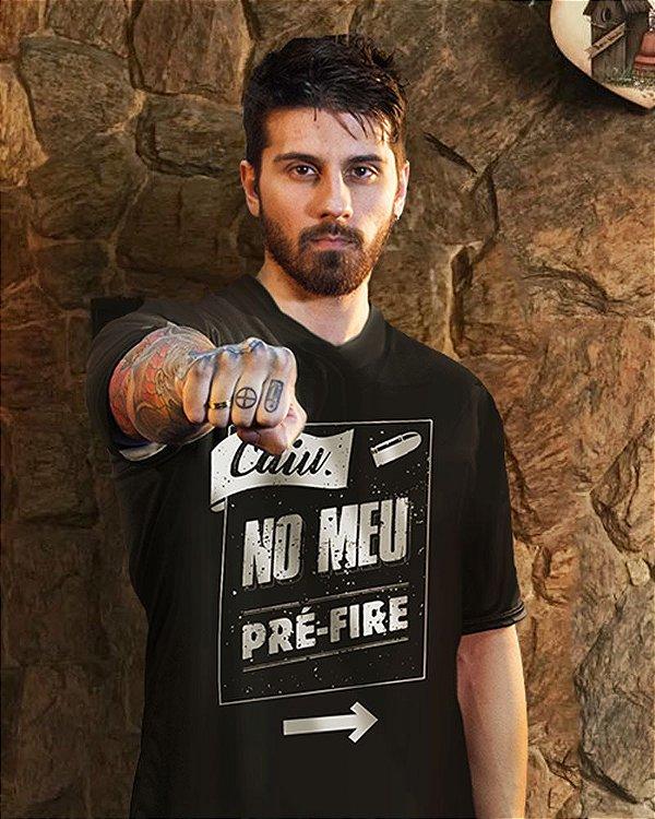 Camiseta Pré Fire (preta)