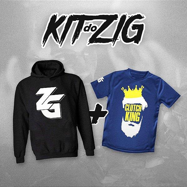 Moletom ZG (logo) + CAMISETA