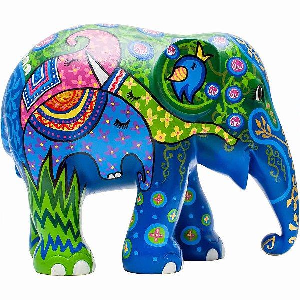 Elephant Herd - 15 cm