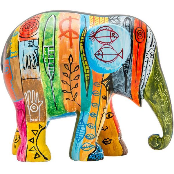 Psycho Elephant Antropofágico Tropical - 15 cm