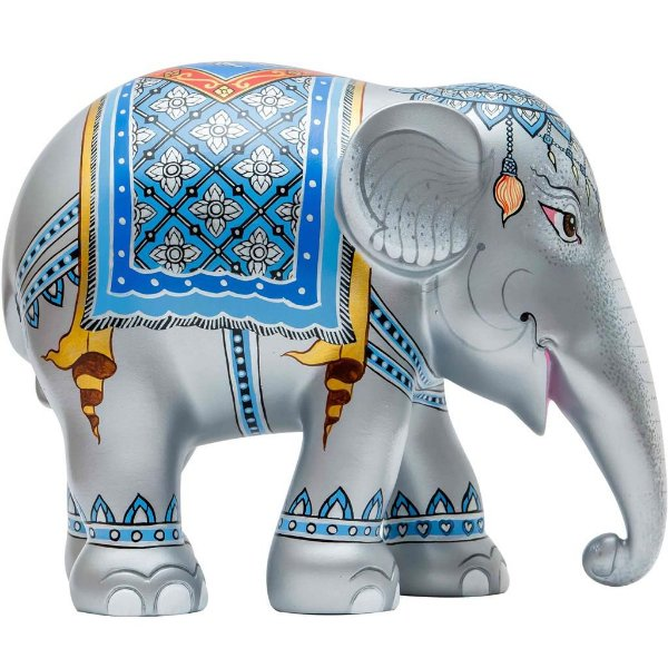 Royal Elephant Silver - 20 cm