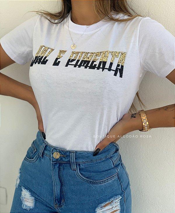 T-shirt Tati Sal e Pimenta