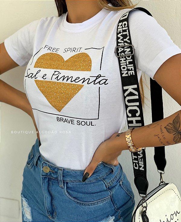 T-shirt Zoe Sal e Pimenta
