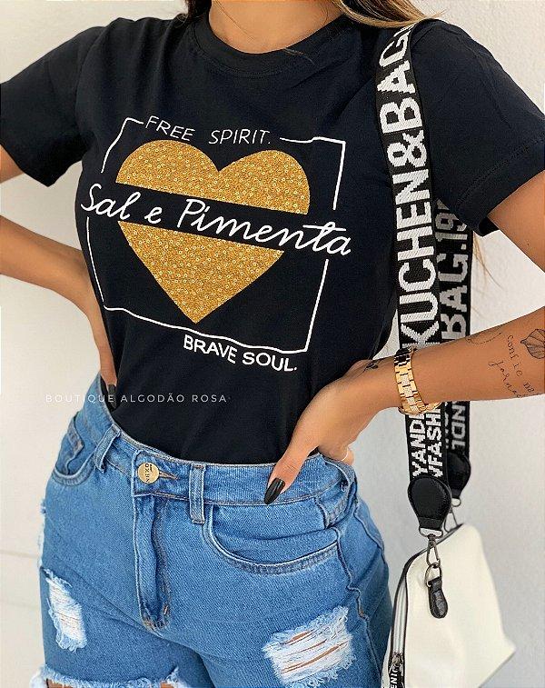 T-shirt Taly Sal e Pimenta