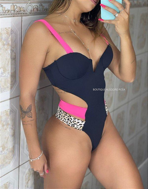 Maiô Cindy Pink