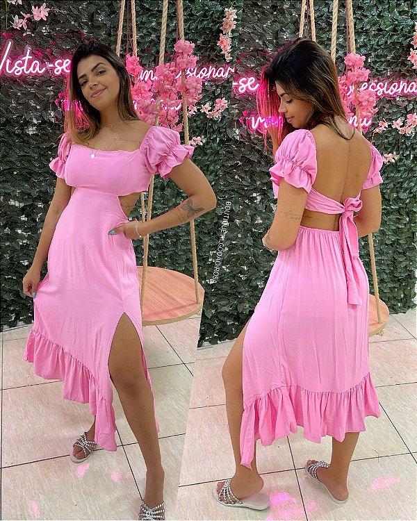 Vestido Dandara Rosinha