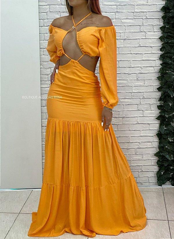 Vestido Hilary Laranja