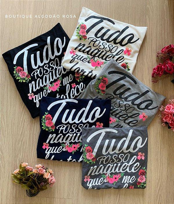 T-shirt Tudo Posso