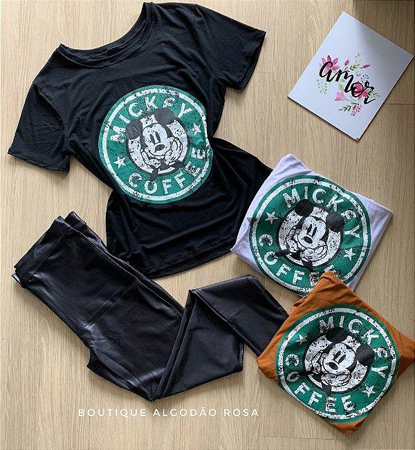 T-shirt Mickey Coffee