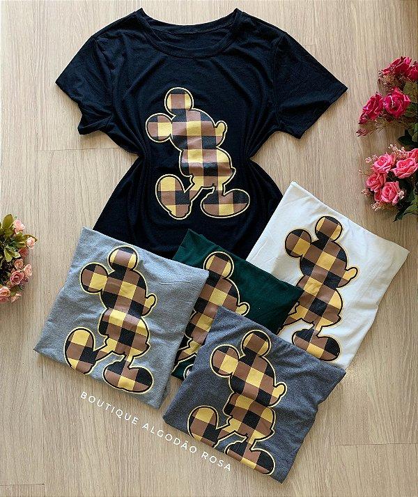 T-shirt Mickey Xadrez