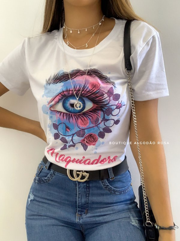 T-shirt Maquiadora