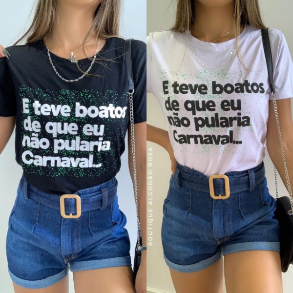 T-shirt Boatos