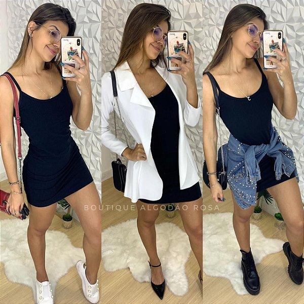 Vestido Alcinha Preto