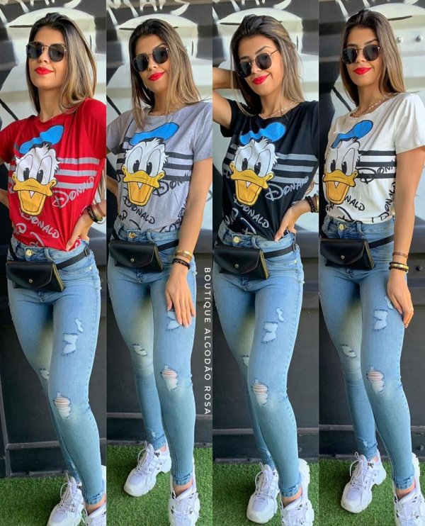 T-shirt Pato Donald