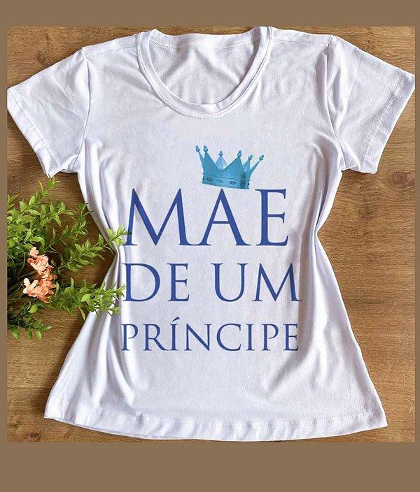t-shirt Mãe de um príncipe
