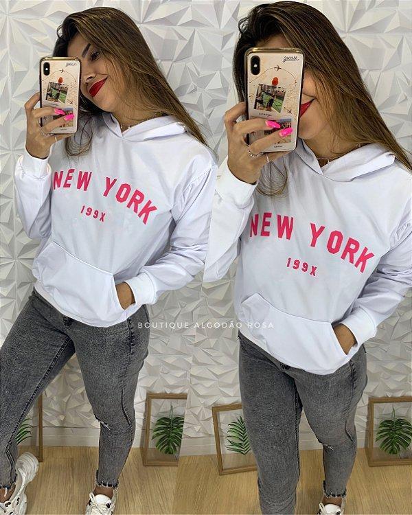 Blusa Branca New York