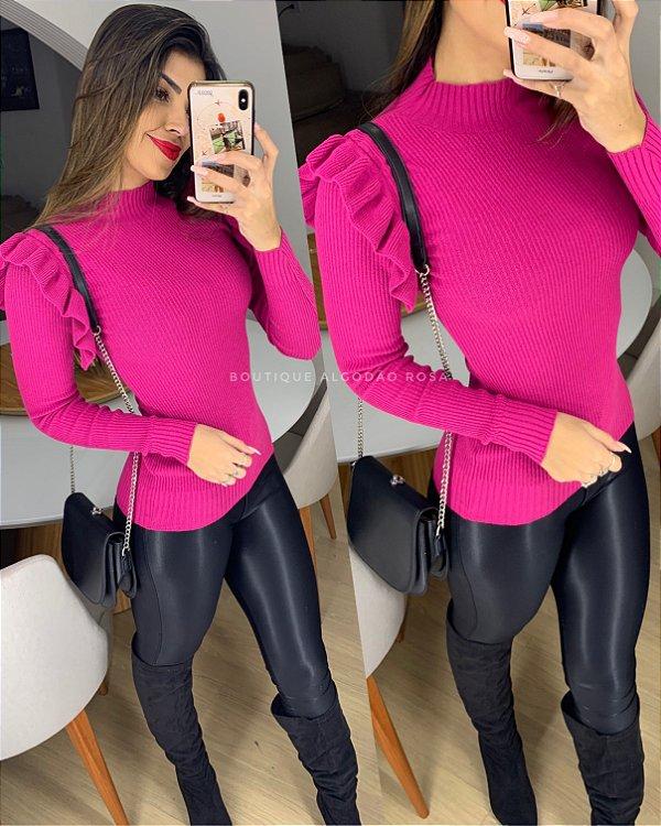 Blusa Pink Babadinho