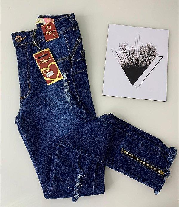Calça Fashion Zipper