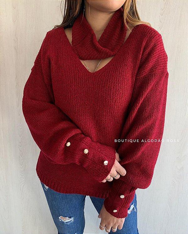 Blusa Moderna Vermelha