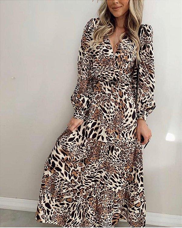 Vestido Lívia Onça