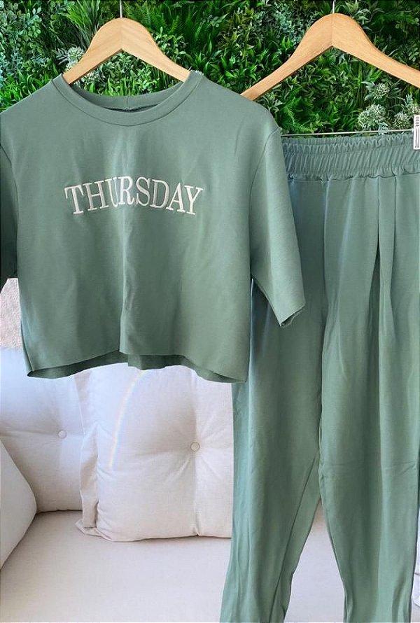Conjunto Thursday Verde