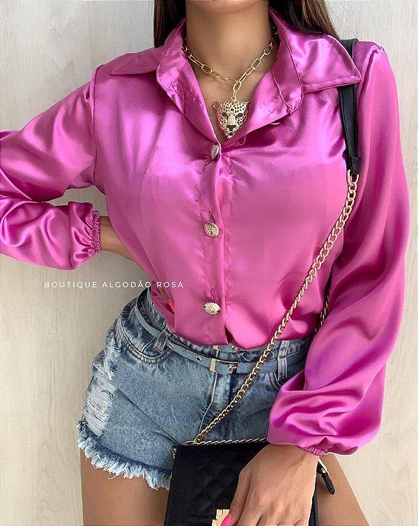 Camisa Lilás