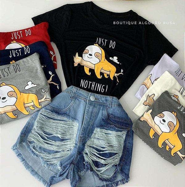 T-shirt Preguiça